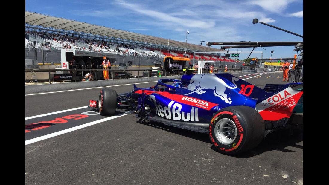 Pierre Gasly - Toro Rosso - Formel 1 - GP Frankreich - Circuit Paul Ricard - 22. Juni 2018