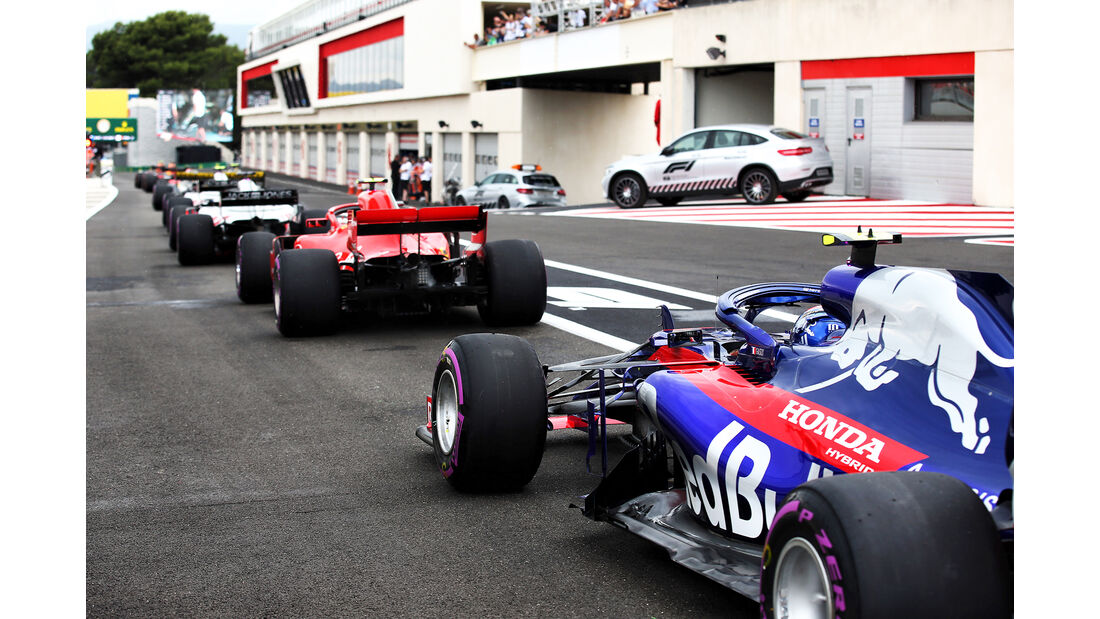 Pierre Gasly - Toro Rosso - Formel 1 - GP Frankreich - Circuit Paul Ricard - Le Castellet - 23. Juni 2018