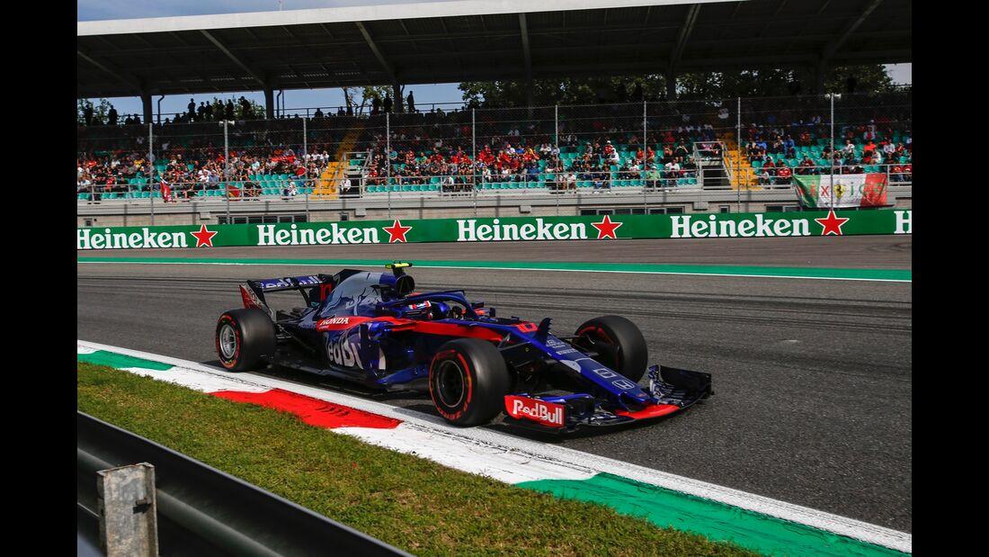 Pierre Gasly - Toro Rosso - Formel 1 - GP Italien - 01. September 2018