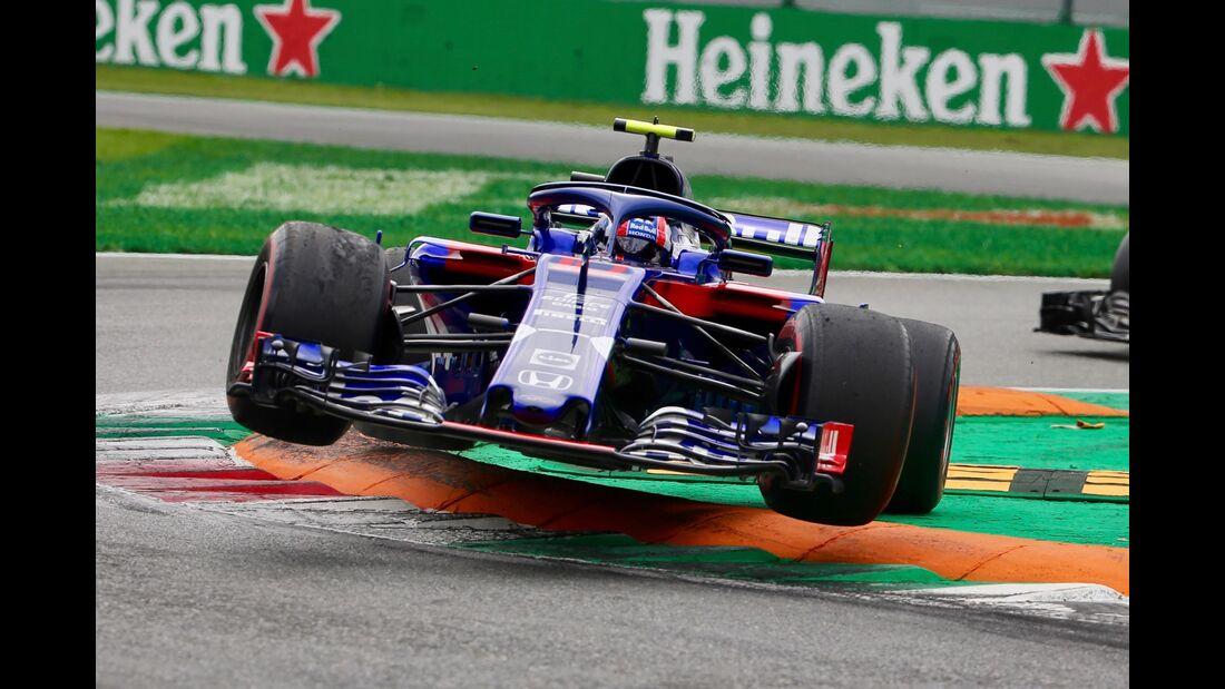 Pierre Gasly - Toro Rosso - Formel 1 - GP Italien - 02. September 2018