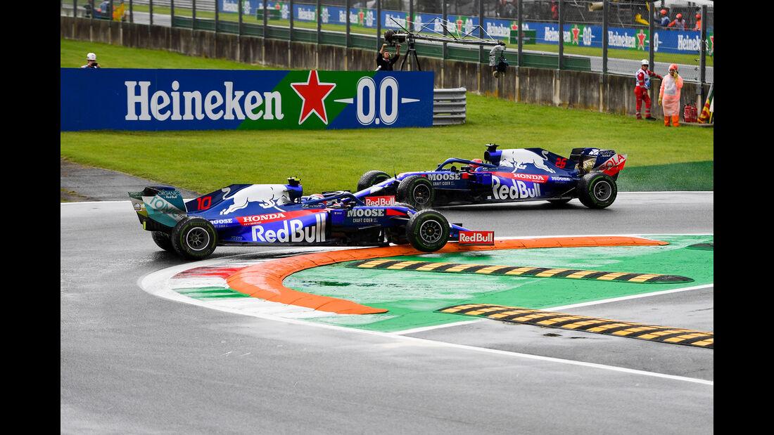 Pierre Gasly - Toro Rosso - Formel 1 - GP Italien - Monza - 6. September 2019