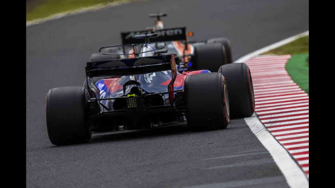Pierre Gasly - Toro Rosso - Formel 1 - GP Japan - Suzuka - 7. Oktober 2017