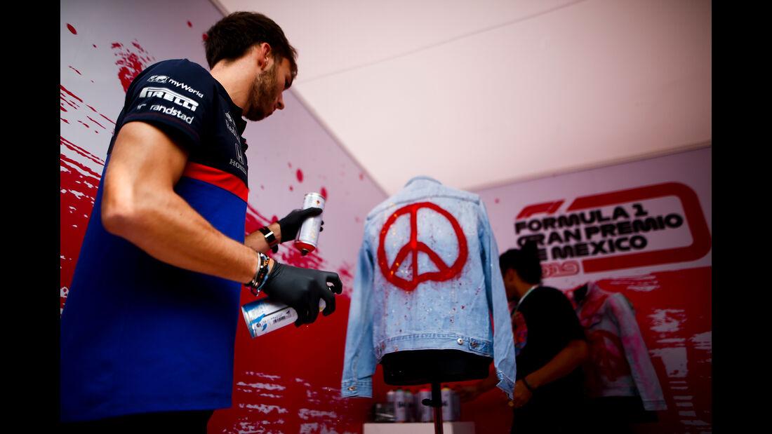 Pierre Gasly - Toro Rosso - Formel 1 - GP Mexiko - 24. Oktober 2019