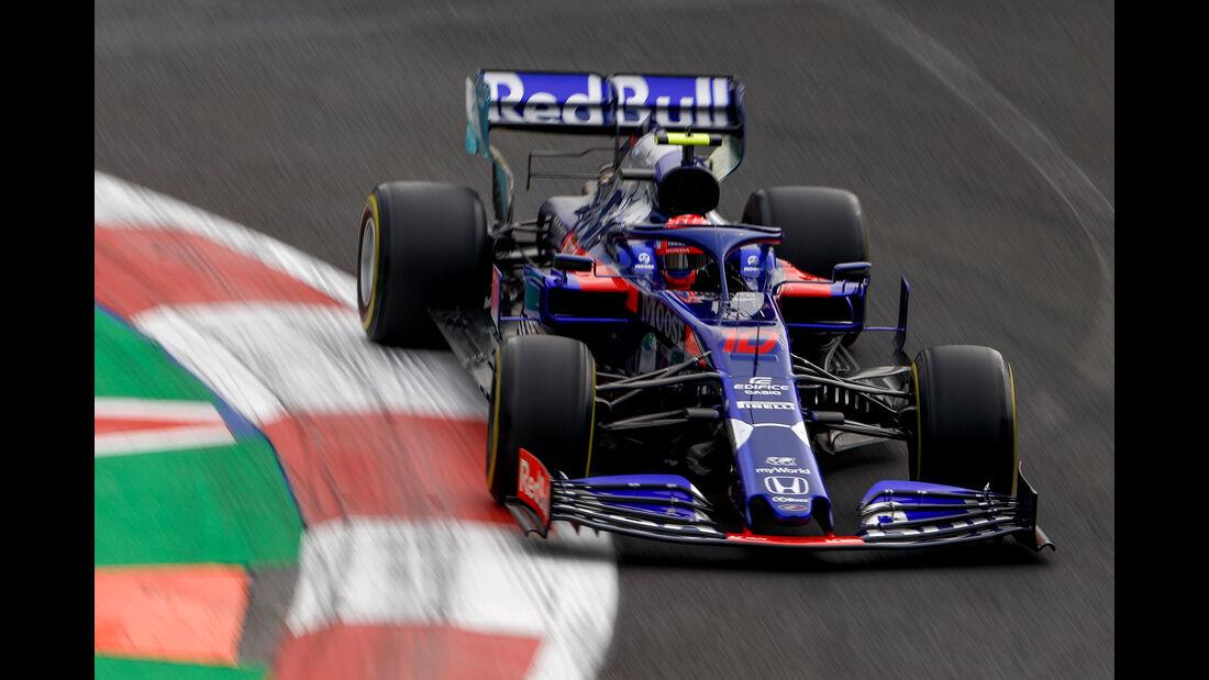 Pierre Gasly - Toro Rosso - Formel 1 - GP Mexiko - 25. Oktober 2019