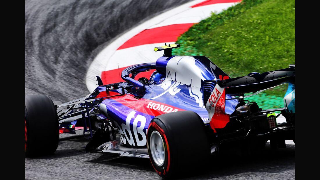 Pierre Gasly - Toro Rosso - Formel 1 - GP Österreich - 29. Juni 2018