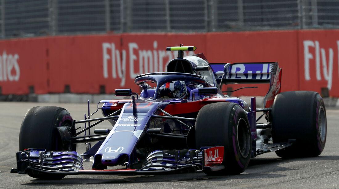 Pierre Gasly - Toro Rosso - Formel 1 - GP Singapur - 14. September 2018