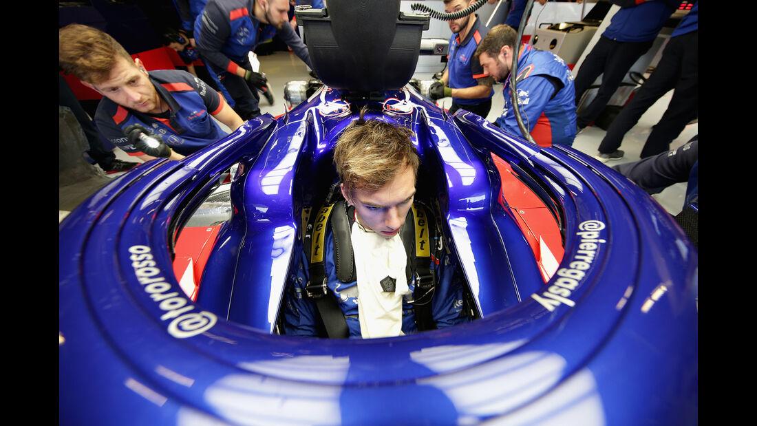 Pierre Gasly - Toro Rosso - Formel 1 - GP USA - 19. Oktober 2018