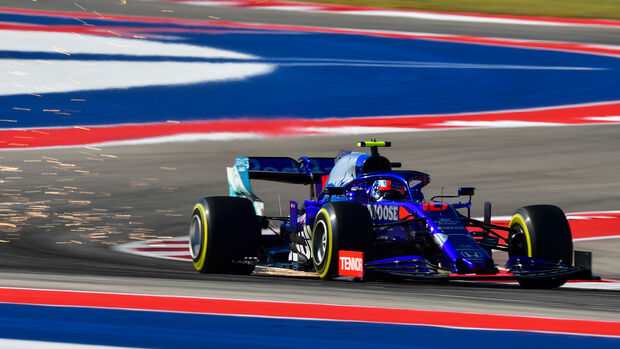Pierre Gasly - Toro Rosso - Formel 1 - GP USA - Austin - 1. November 2019