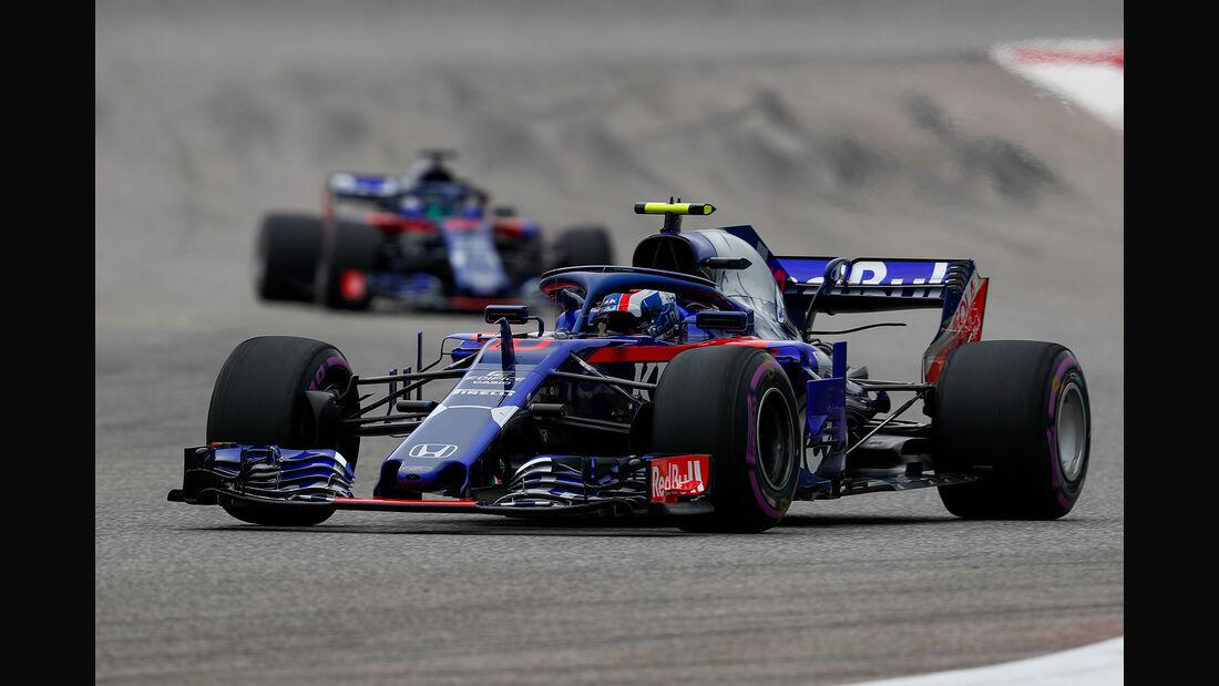 Pierre Gasly - Toro Rosso - Formel 1 - GP USA - Austin - 20. Oktober 2018