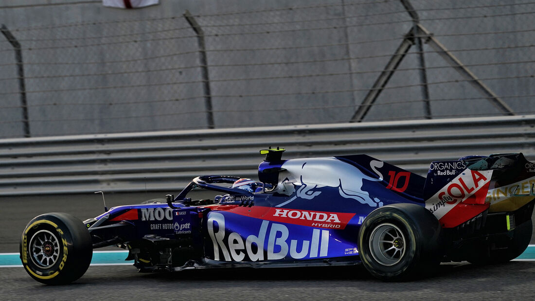 Pierre Gasly - Toro Rosso - GP Abu Dhabi 2019 - Rennen