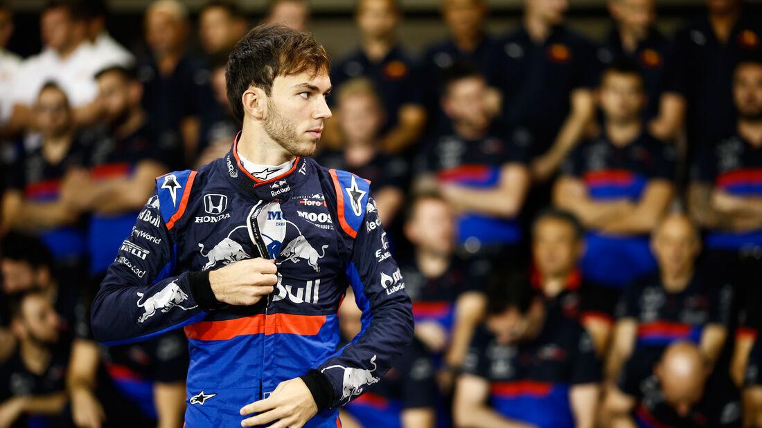 Pierre Gasly - Toro Rosso - GP Abu Dhabi - Formel 1 - Donnerstag - 28.11.2019