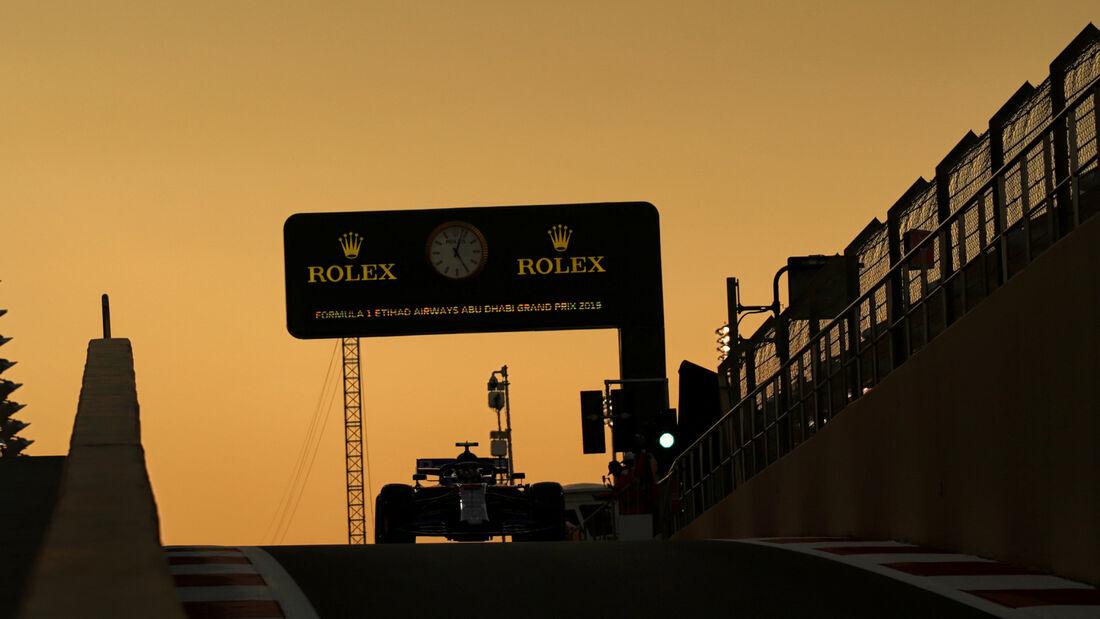 Pierre Gasly - Toro Rosso - GP Abu Dhabi - Formel 1 - Freitag - 29.11.2019