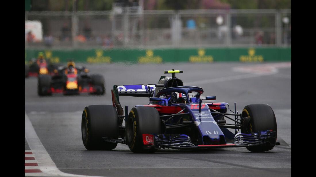 Pierre Gasly - Toro Rosso - GP Aserbaidschan 2018 - Baku - Rennen