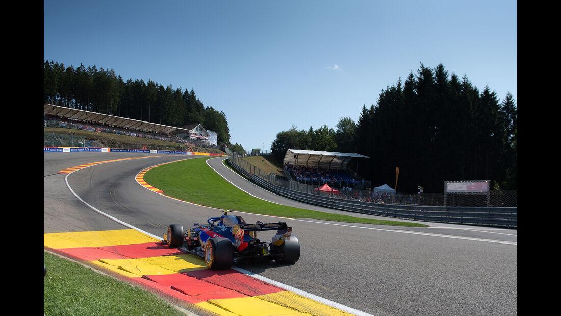 Pierre Gasly - Toro Rosso - GP Belgien 2019 - Spa-Francorchamps