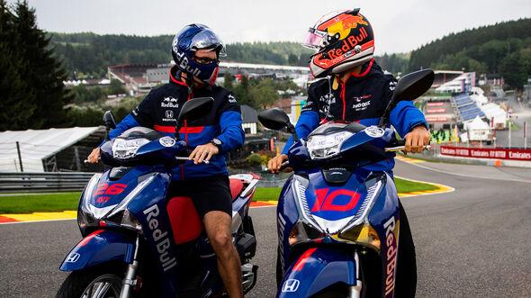 Pierre Gasly - Toro Rosso - GP Belgien - Spa-Francorchamps - Formel 1 - Donnerstag - 29.8.2019