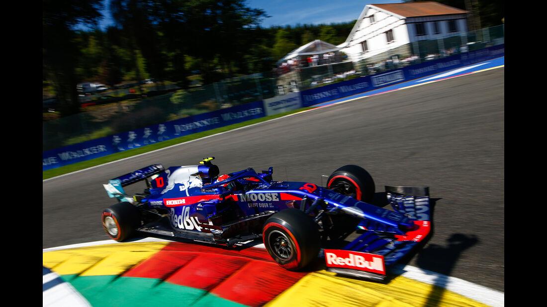 Pierre Gasly - Toro Rosso - GP Belgien - Spa-Francorchamps - Formel 1 - Freitag - 30.08.2019
