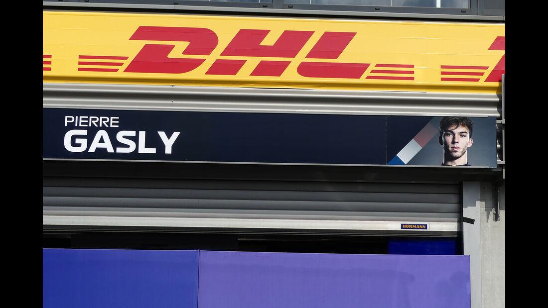 Pierre Gasly - Toro Rosso - GP Belgien - Spa-Francorchamps - Formel 1 - Mittwoch - 28.8.2019