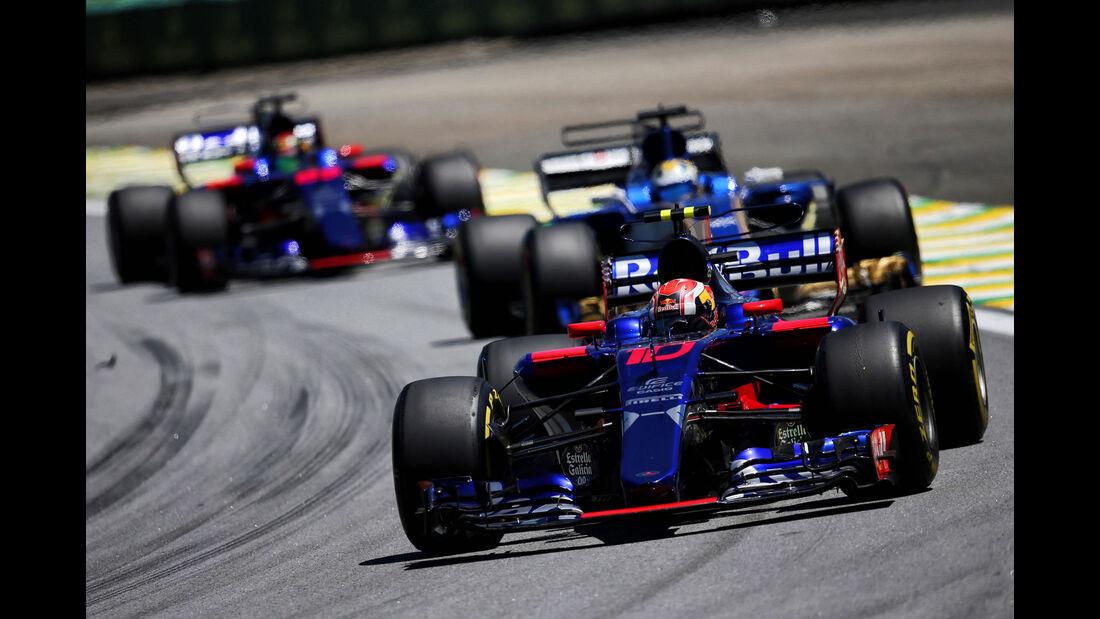 Pierre Gasly - Toro Rosso - GP Brasilien 2017