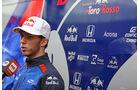 Pierre Gasly - Toro Rosso - GP Brasilien - Interlagos - Formel 1 - Donnerstag - 8.11.2018