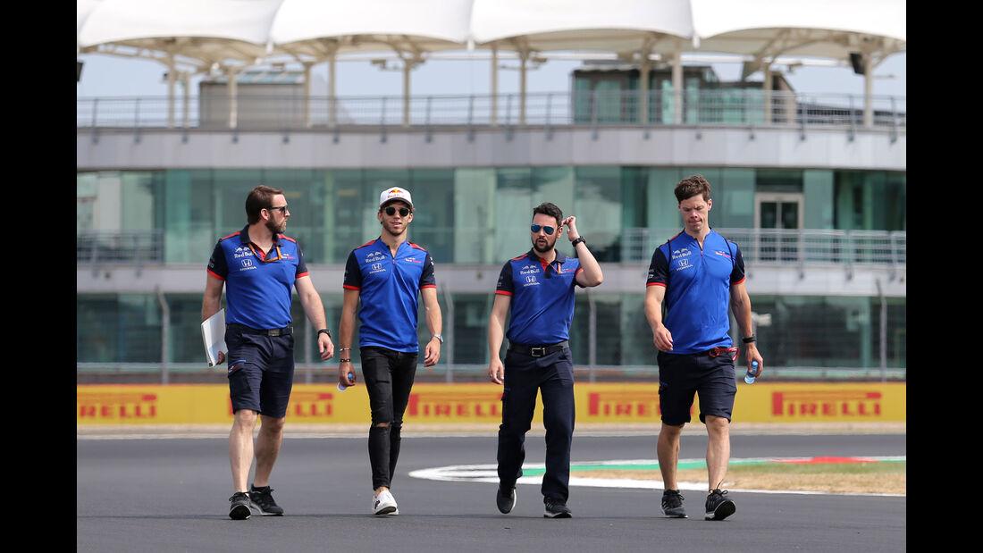 Pierre Gasly - Toro Rosso - GP England - Silverstone - Formel 1 - Donnerstag - 5.7.2018
