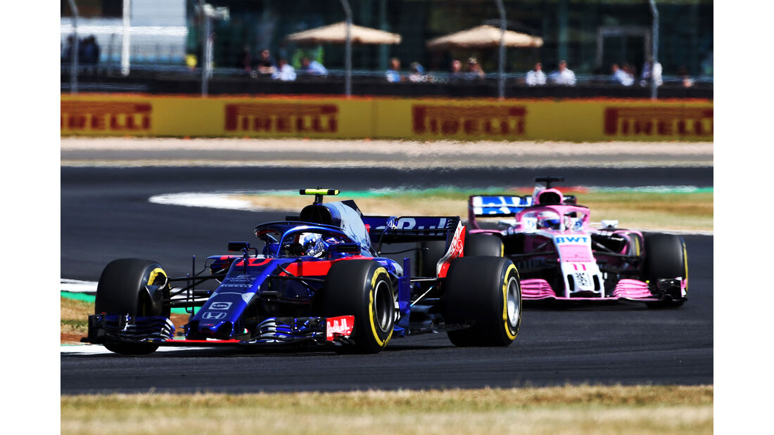 Pierre Gasly - Toro Rosso - GP England - Silverstone - Formel 1 - Freitag - 6.7.2018