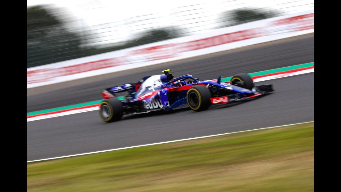 Pierre Gasly - Toro Rosso - GP Japan - Suzuka - Formel 1 - Freitag - 5.10.2018