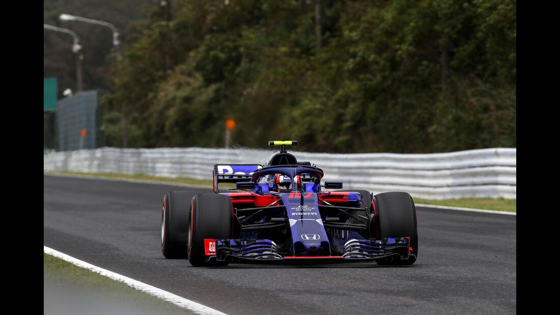 Pierre Gasly - Toro Rosso - GP Japan - Suzuka - Formel 1 - Samstag - 6.10.2018