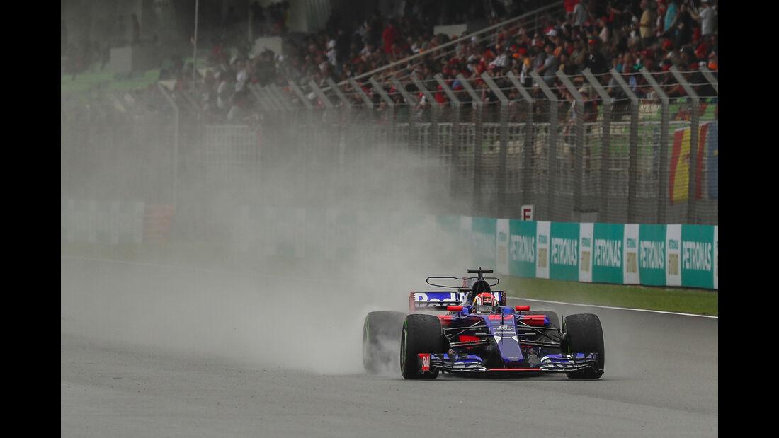 Pierre Gasly - Toro Rosso - GP Malaysia - Sepang - 29. Oktober 2017