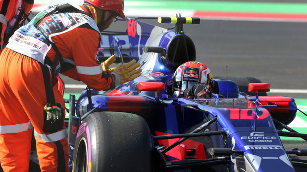 Pierre Gasly - Toro Rosso - GP Mexiko 2017 - Formel 1