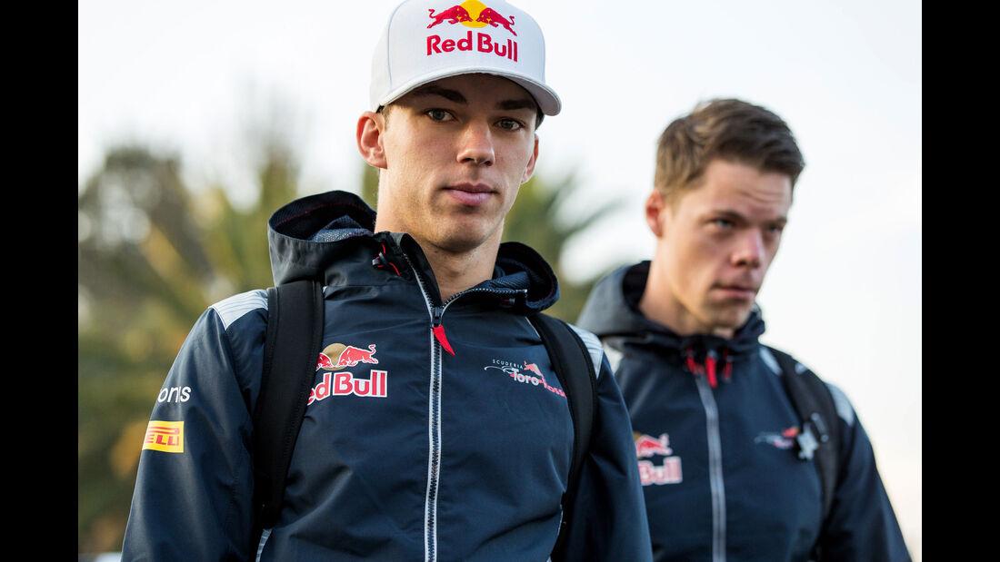 Pierre Gasly - Toro Rosso - GP Mexiko - Formel 1 - Freitag - 27.10.2017