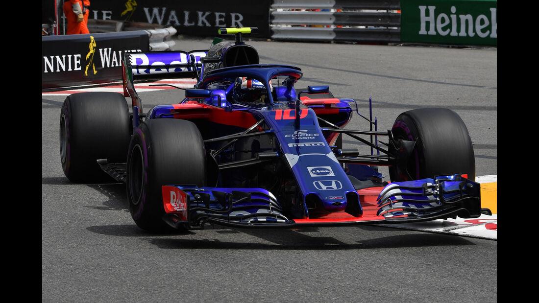 Pierre Gasly - Toro Rosso - GP Monaco - Formel 1 - Donnerstag - 24.5.2018