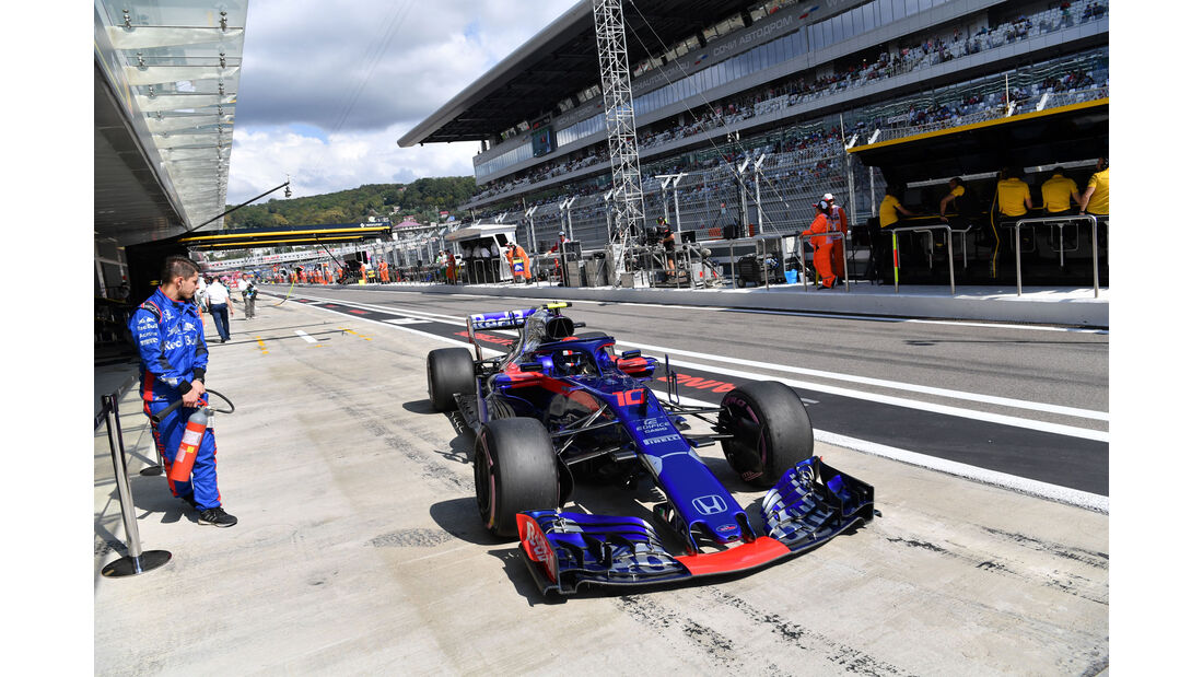 Pierre Gasly - Toro Rosso - GP Russland 2018 - Sotschi - Qualifying