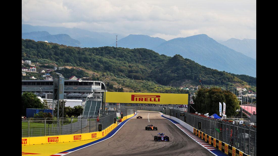 Pierre Gasly - Toro Rosso - GP Russland - Sotschi - Formel 1 - Freitag - 27.9.2019