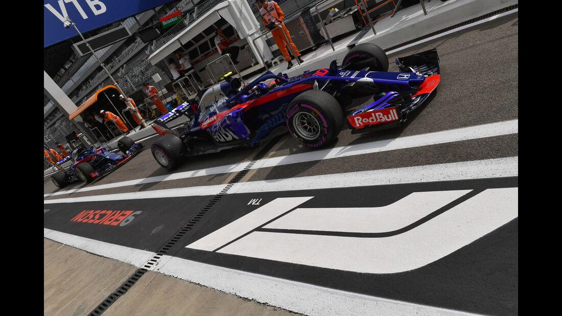 Pierre Gasly - Toro Rosso - GP Russland - Sotschi - Formel 1 - Freitag - 28.9.2018
