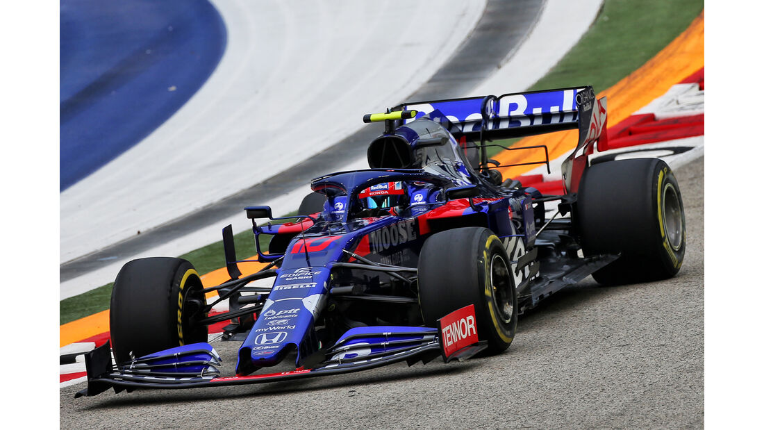 Pierre Gasly - Toro Rosso - GP Singapur - Formel 1 - Freitag - 20.9.2019