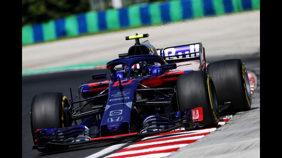 Pierre Gasly - Toro Rosso - GP Ungarn - Budapest - Formel 1 - Freitag - 27.7.2018