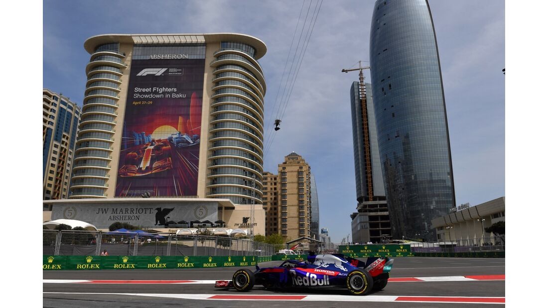Pierre Gasly - Toro Rosso-Honda - Formel 1 - GP Aserbaidschan - 27. April 2018