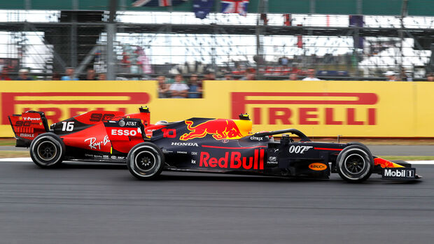Pierre Gasly vs. Charles Leclerc - GP England 2019d 2019