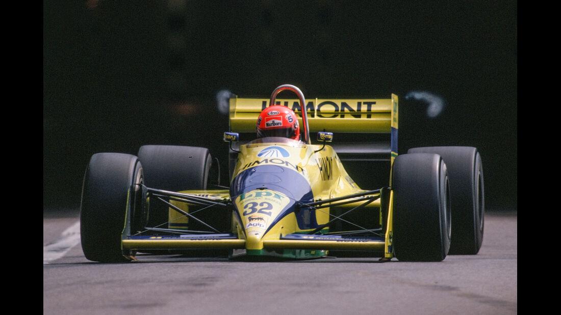 Pierre-Henri Raphanel - Coloni - Formel 1 - 1989