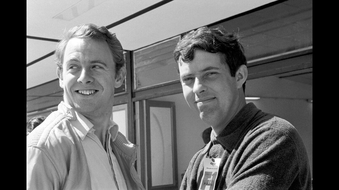 Piers Courage - Brian Redman - Jarama 1968 - Spanien