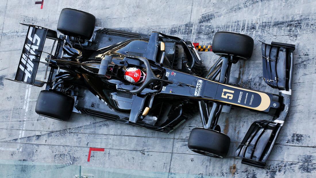 Pietro Fittipaldi - Haas - F1-Test - Abu Dhabi - 4. Dezember 2019