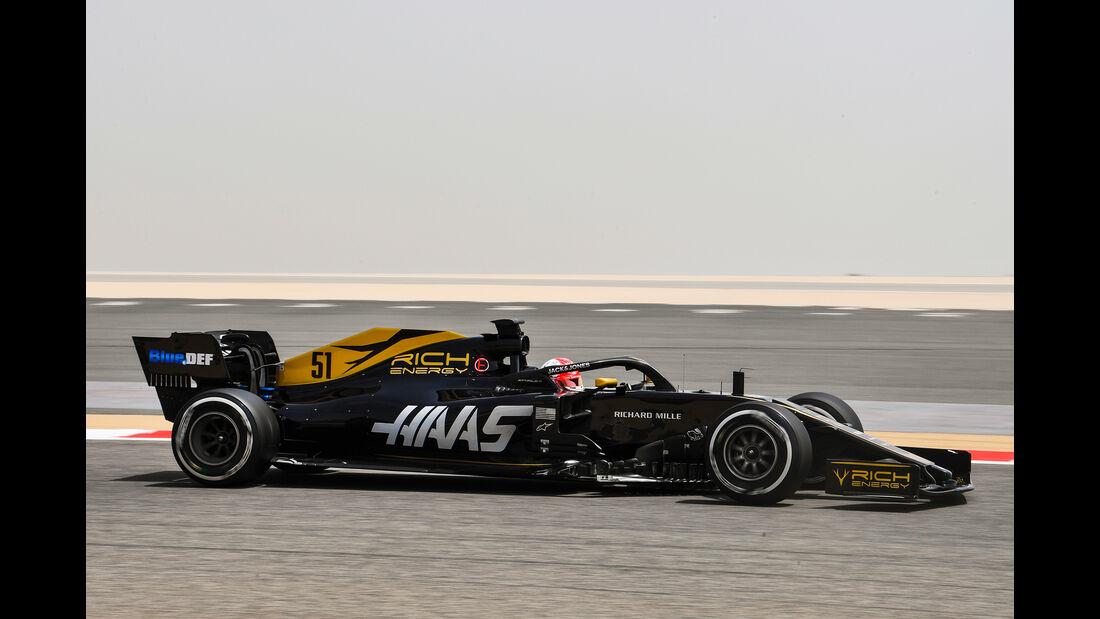 Pietro Fittipaldi - Haas - F1-Test Bahrain - 3. April 2019