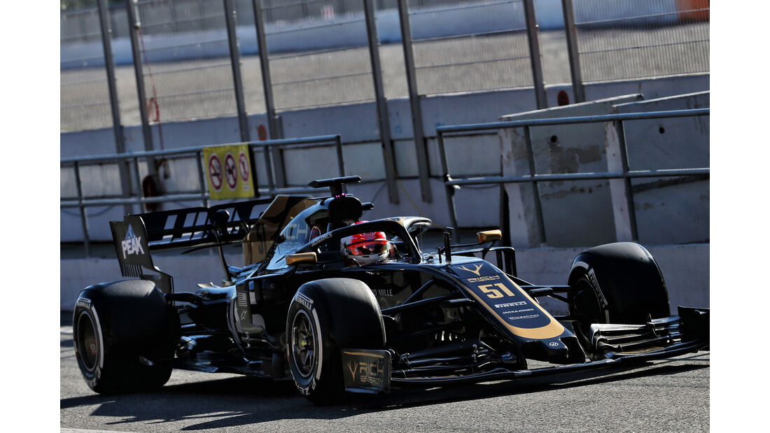 Pietro Fittipaldi - Haas - F1-Test - Barcelona  - 14. Mai 2019