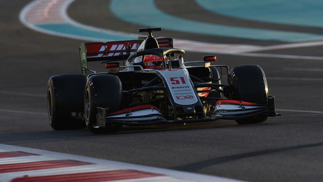 Pietro Fittipaldi - Haas - Formel 1 - GP Abu Dhabi - Freitag - 11.12.2020