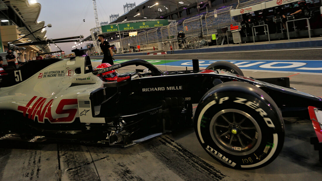 Pietro Fittipaldi - Haas - Formel 1 - GP Sakhir - Bahrain - Freitag - 4.12.2020
