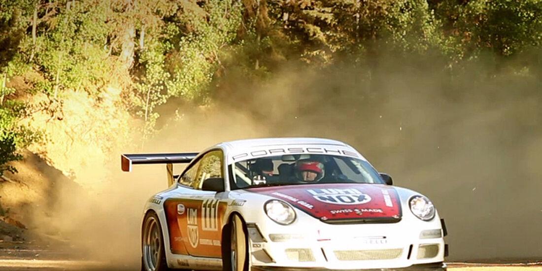 Pikes Peak 2010, Porsche GT3 Cup, Jeff Zwart