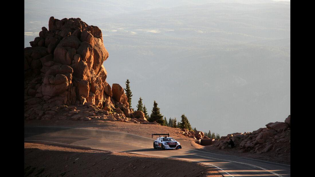 Pikes Peak, Peugeot 208, Frontansicht