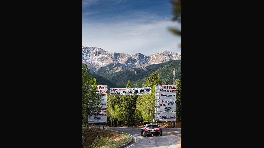 Pikes Peak, Peugeot 208, Heckansicht