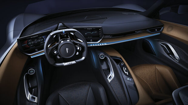 Pininfarina Automobili Battista Cockpit Interieur