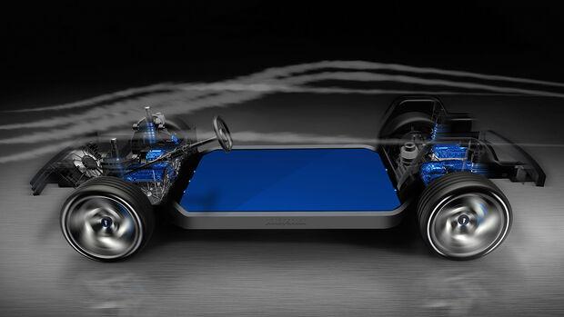 Pininfarina Elektroplattform Bosch Benteler